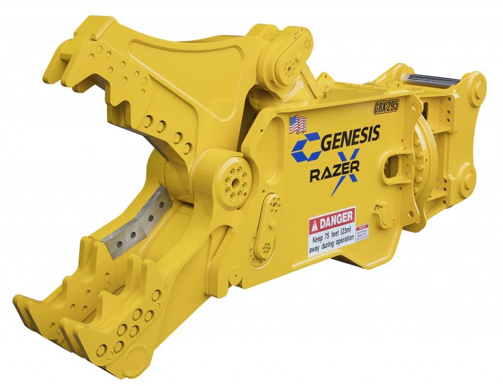 Genesis Attachments GRX 295 Razer X Multi-Jaw Demolition Tool