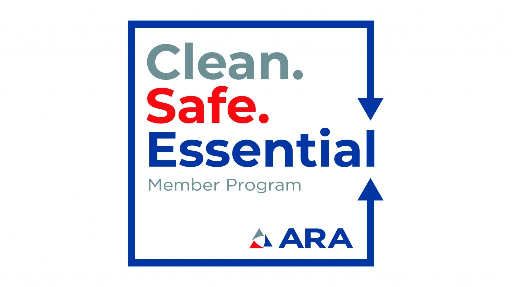 Clean. Safe. Essential. ARA banner