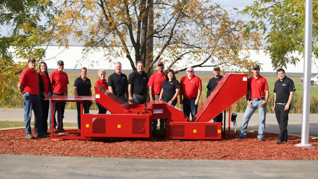people gather for Rotochopper 30 year anniversary