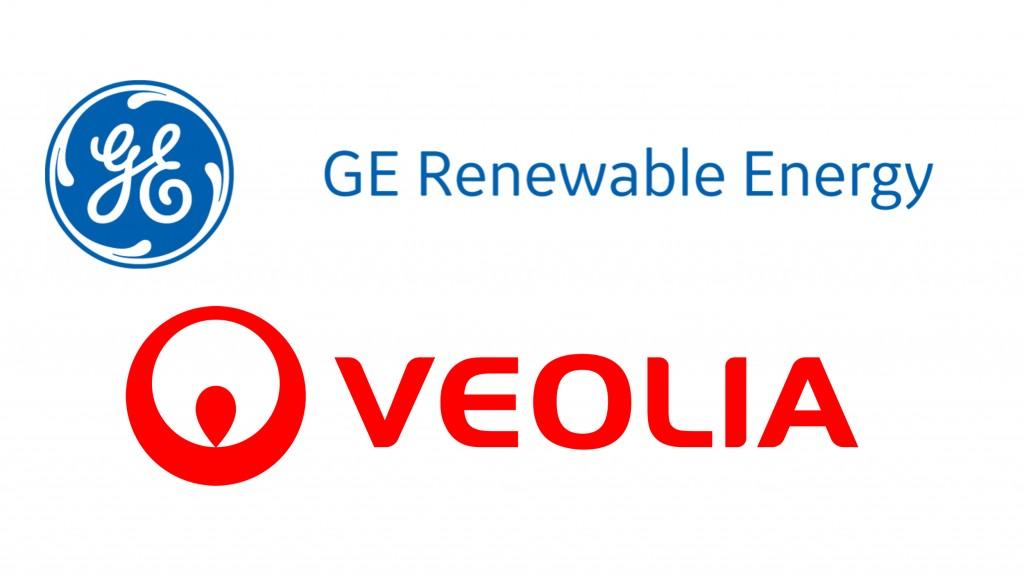 Veolia and GE logos
