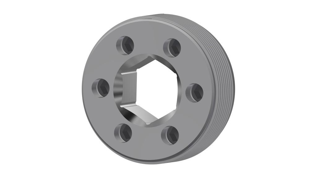 Gardner Denver's Hammerless Frac Suction Cover Retainer  for safer pumping operations