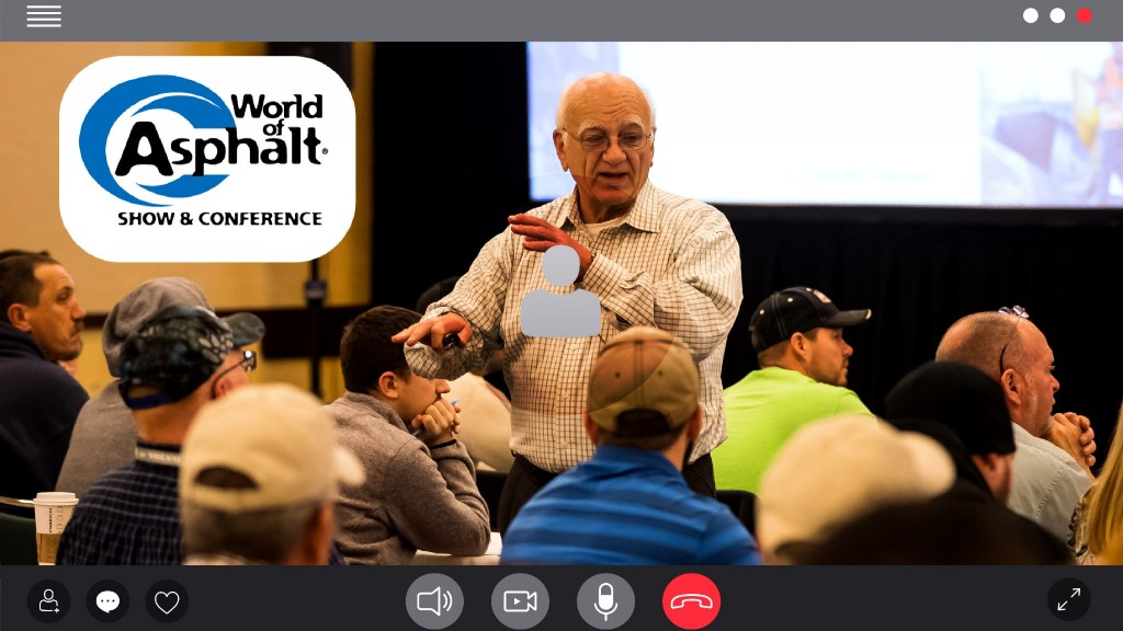 World of Asphalt and NAPA partner to present digital conference on best practices for asphalt industry