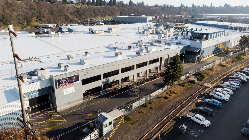 Daimler Trucks North America's (DTNA) Portland truck manufacturing plant