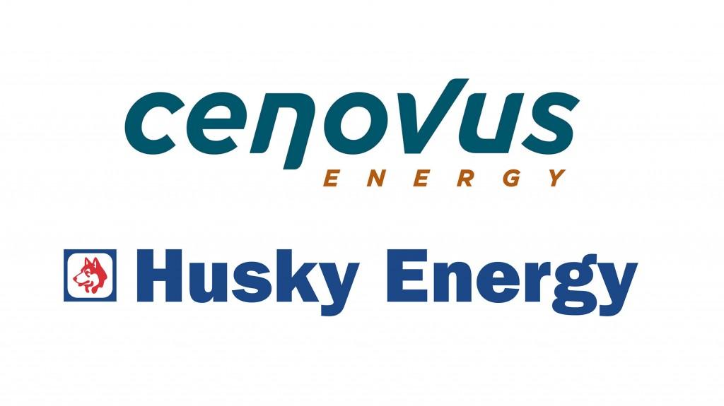 Cenovus and Husky logos