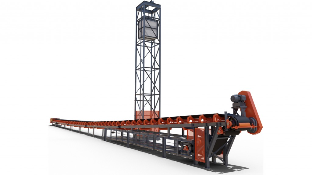 Superior Industries' Zipline® Overland Conveyors