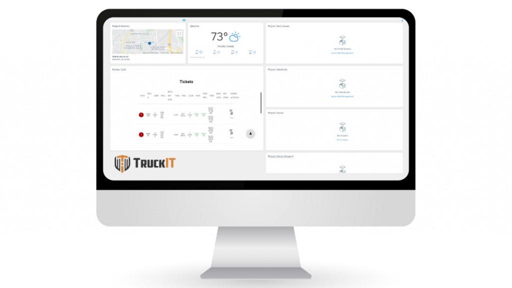 e-ticketing integrated with bim 360 dasboard