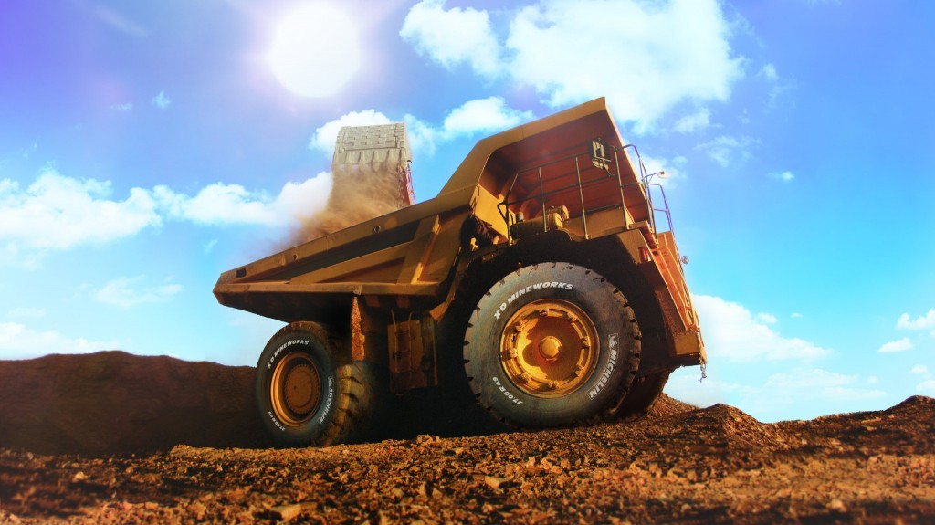 Michelin introduces new 49-inch tire for 100-ton mining and quarry dump trucks.