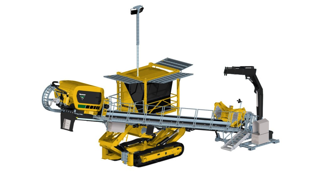 Vermeer horizontal directional drilling machine