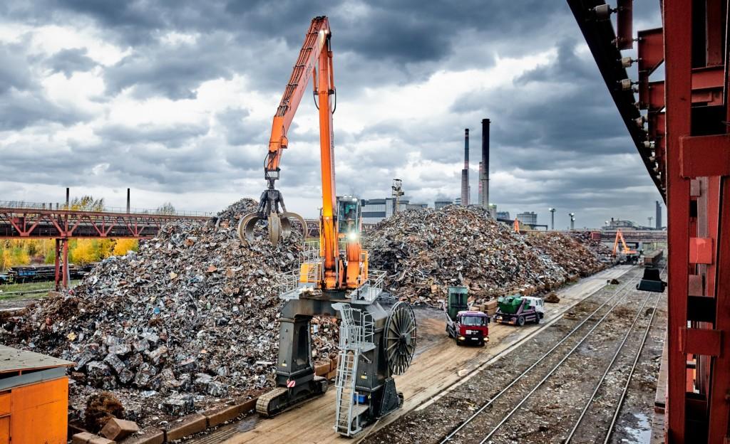 Sennebogen at Czech steel yard