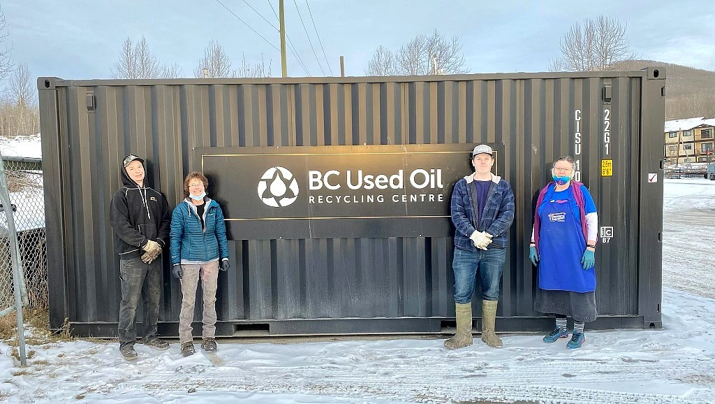 Upgraded used oil recycling facility opens in Chetwynd, BC