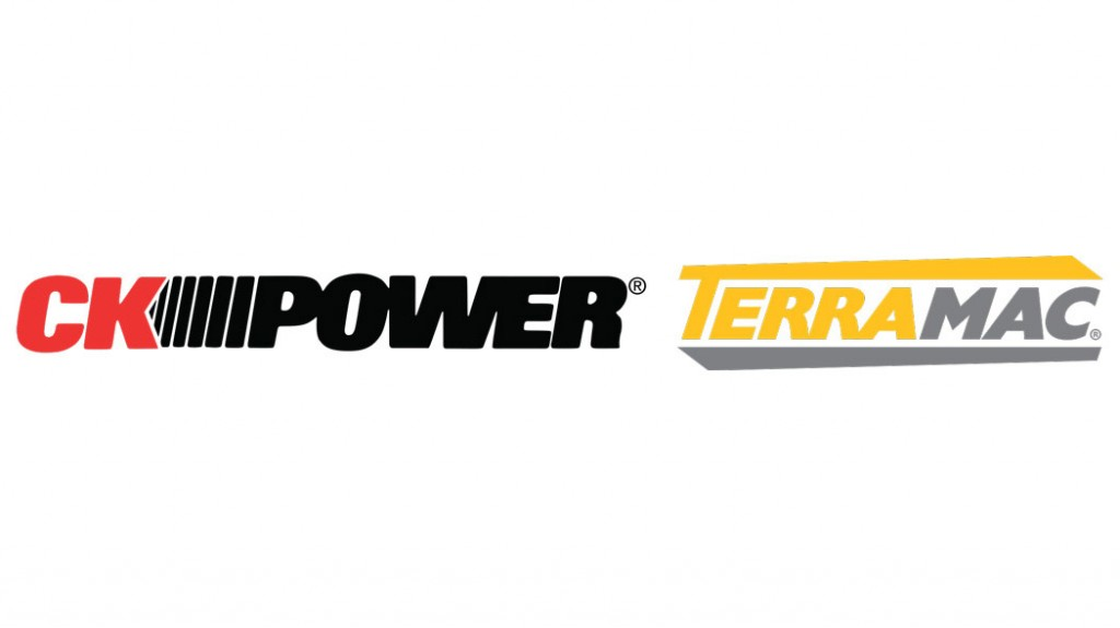 CK Power and terramac logos