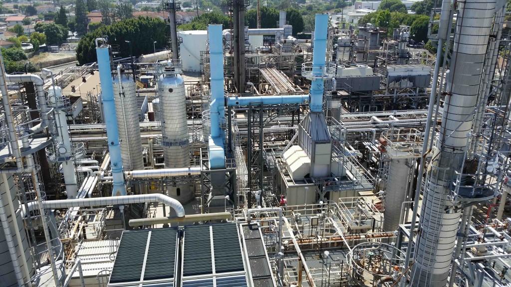 Honeywell Ecofining plant