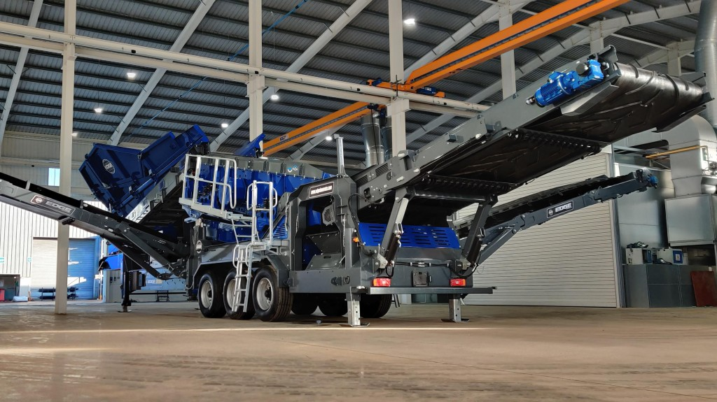 EDGE Innovate adds new wheel-mounted screener to recycling product range
