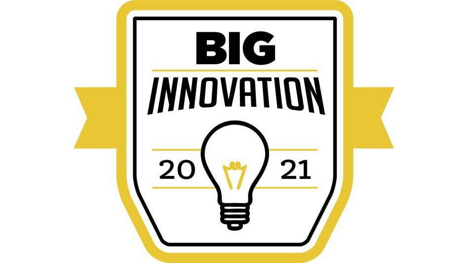 2021 Big Innovation award logo