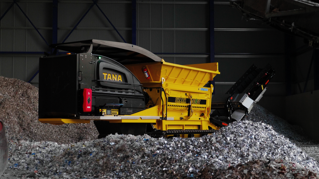 TANA updates shredders to handle additional recycling applications