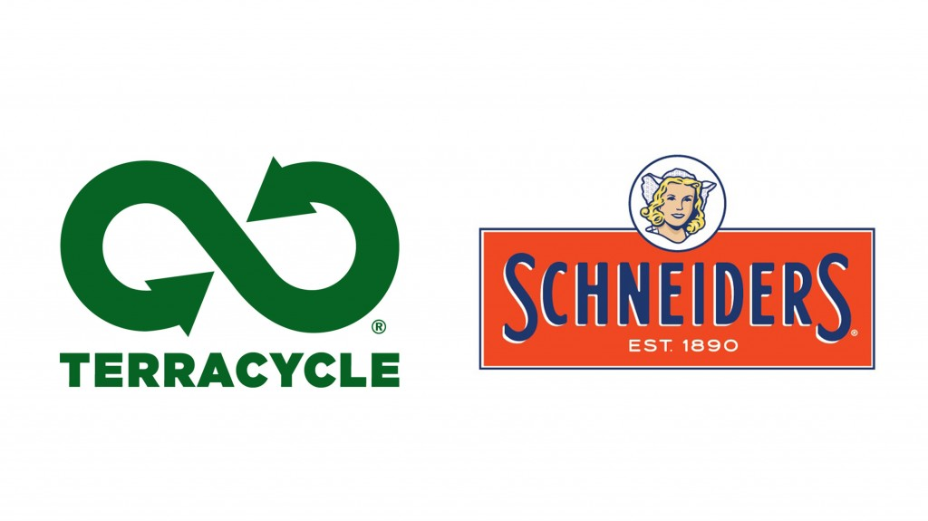 terracycle and Schneiders logos