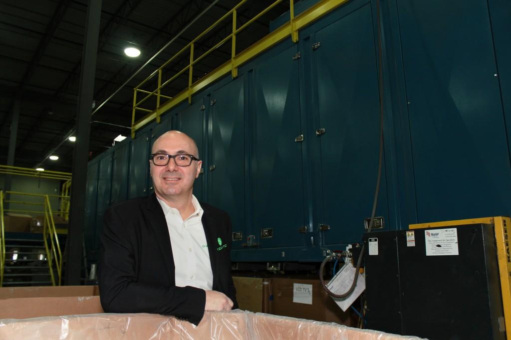 Greentec CEO Tony Perrotta