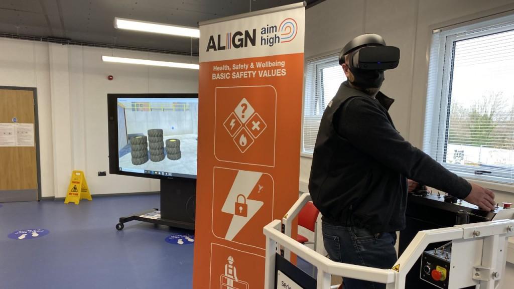 Align JV, Serious Labs Virtual reality machine