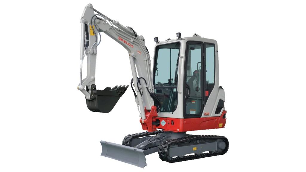 Takeuchi - TB225 Compact Excavators