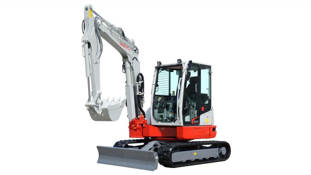 Takeuchi - TB257FR Compact Excavators