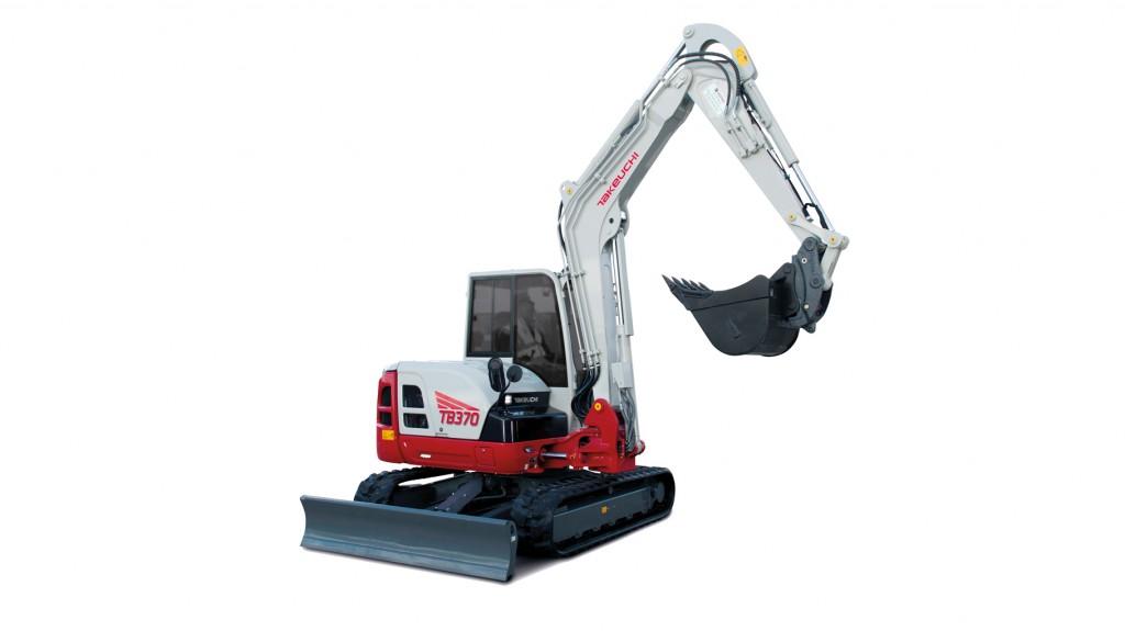 Takeuchi - TB370 Compact Excavators