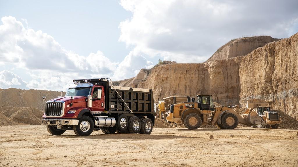 International HX vocational truck