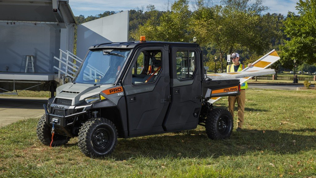 New utility vehicle accessories from Polaris enhance jobsite productivity, protect equipment