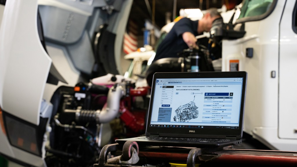 Mack Trucks' new PartsASIST platform