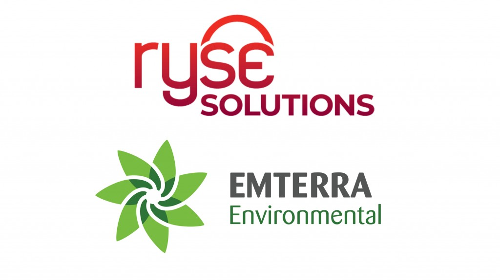 ryse solutions and emterra logos