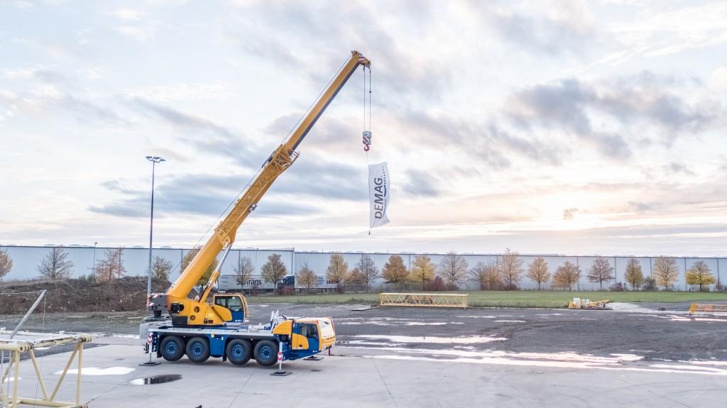 New Demag® AC 80-4 All Terrain Crane