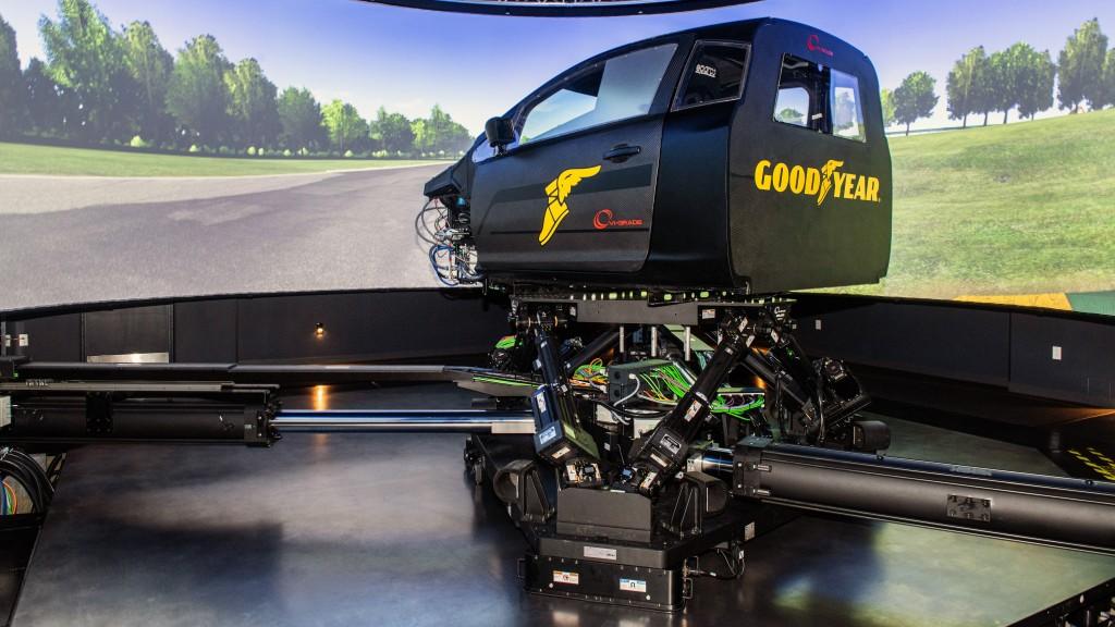 The Goodyear Tire & Rubber Company and VI-grade DiM250 DYNAMIC Driving Simulator