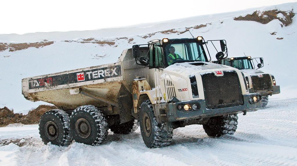 terex trucks TA300 articulated hauler