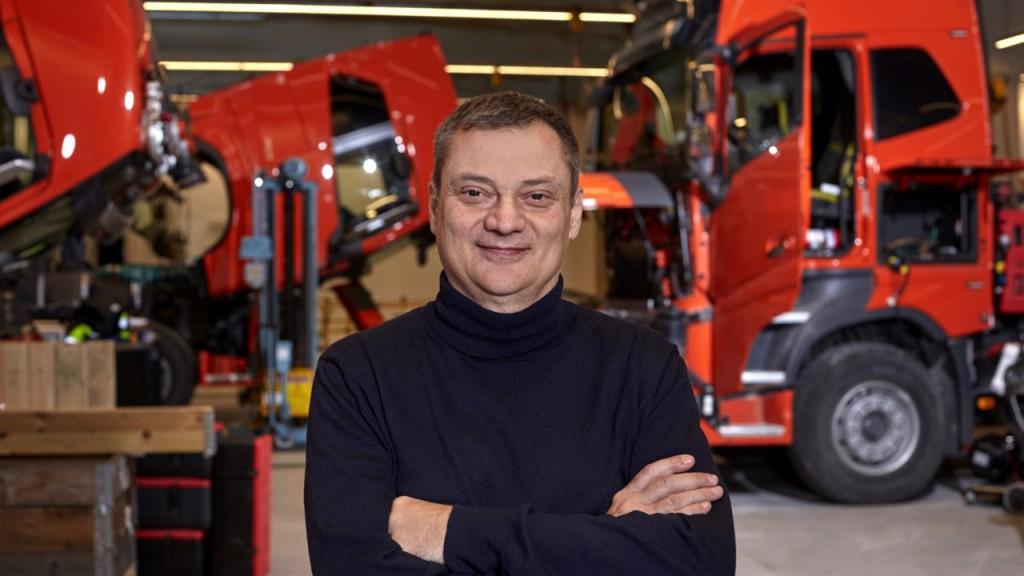 Dr. Luca Delgrossi, Volvo Autonomous Solutions' Head of Technology