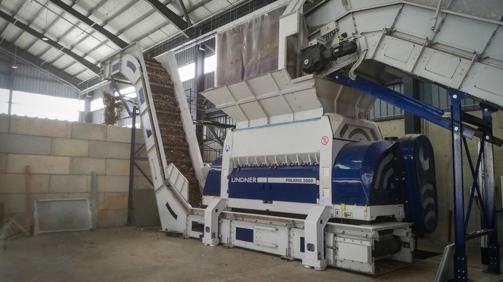 Lindner's Polaris 2800 shredder