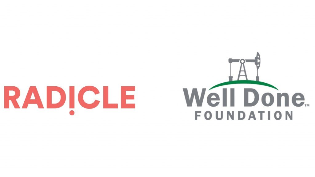 Radicle and Well Done fondation logos