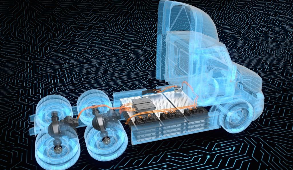 Daimler Trucks North America new Detroit ePowertrain