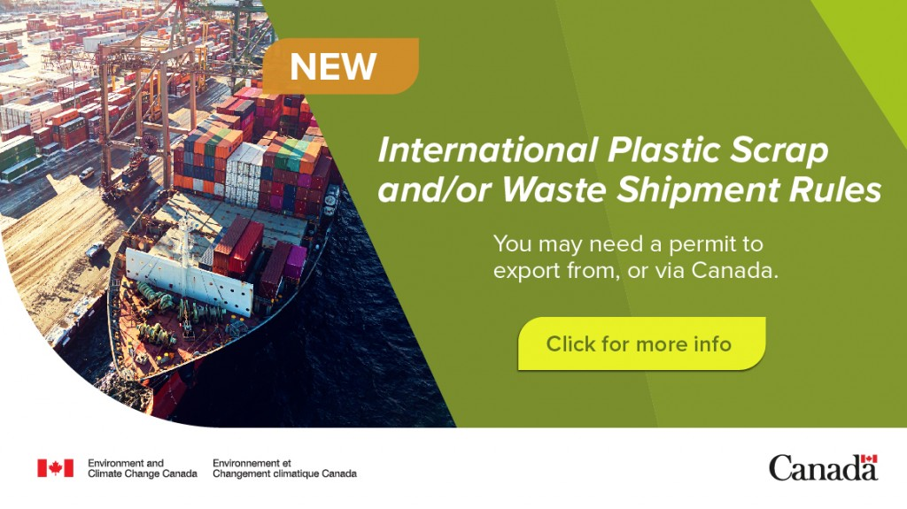New plastics waste amendments are in effect in Canada! Find out how you will be impacted.