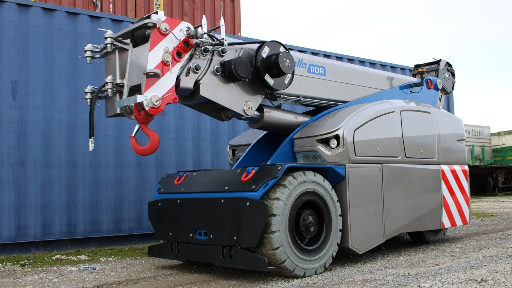 new V 110 R Manitex mobile crane