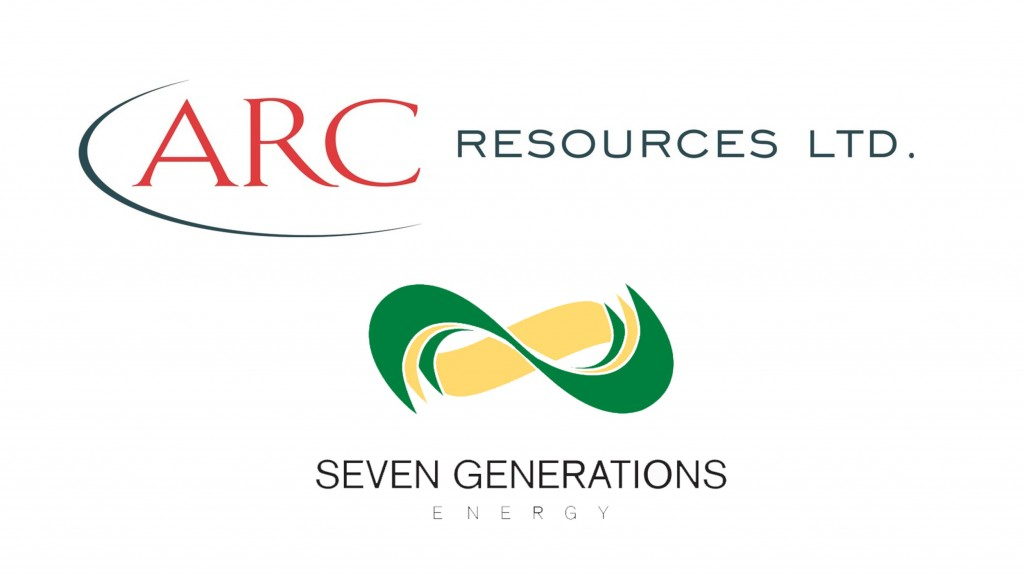 arc industries and seven generation energy logos