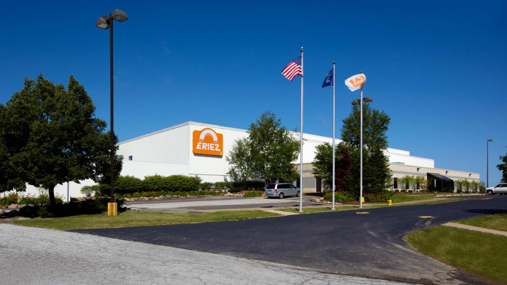 Eriez plant in Erie, Pennsylvania