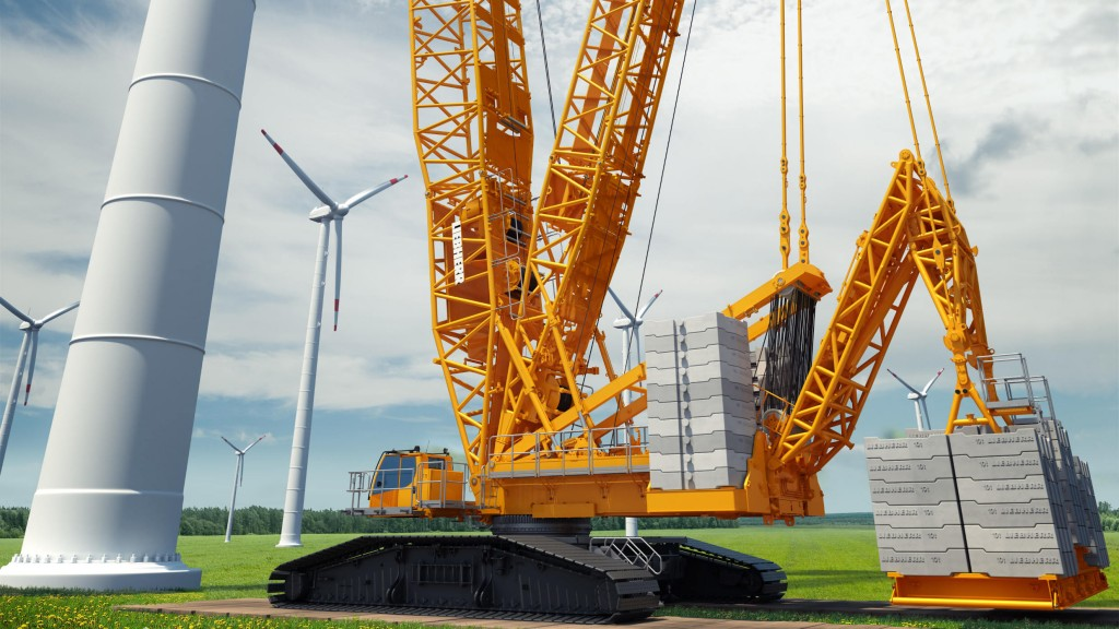 Liebherr new 700-tonne LR 1700-1.0 crawler crane