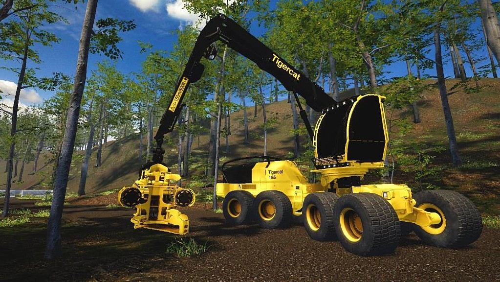 CM Labs partners with Tigercat Industries to develop forestry equipment simulators