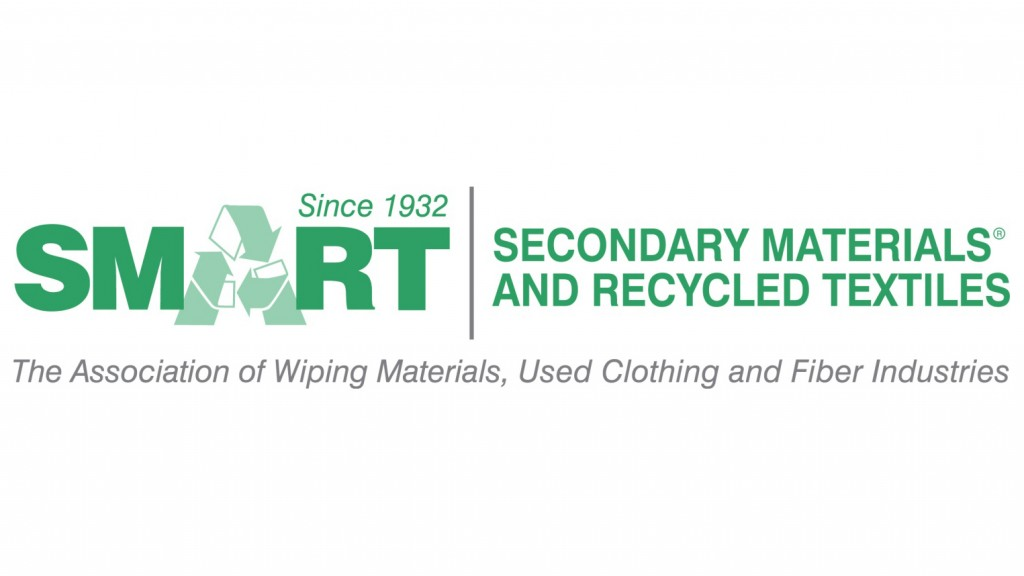 secondary materials and recycling textiles logo