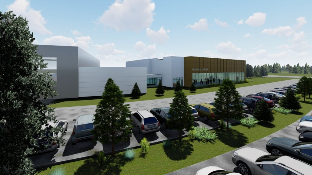 new Volvo CE training facility
