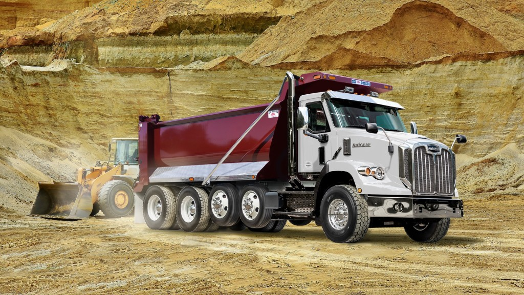 Autocar introduces first DC-64D severe-duty conventional dump truck to Canadian market