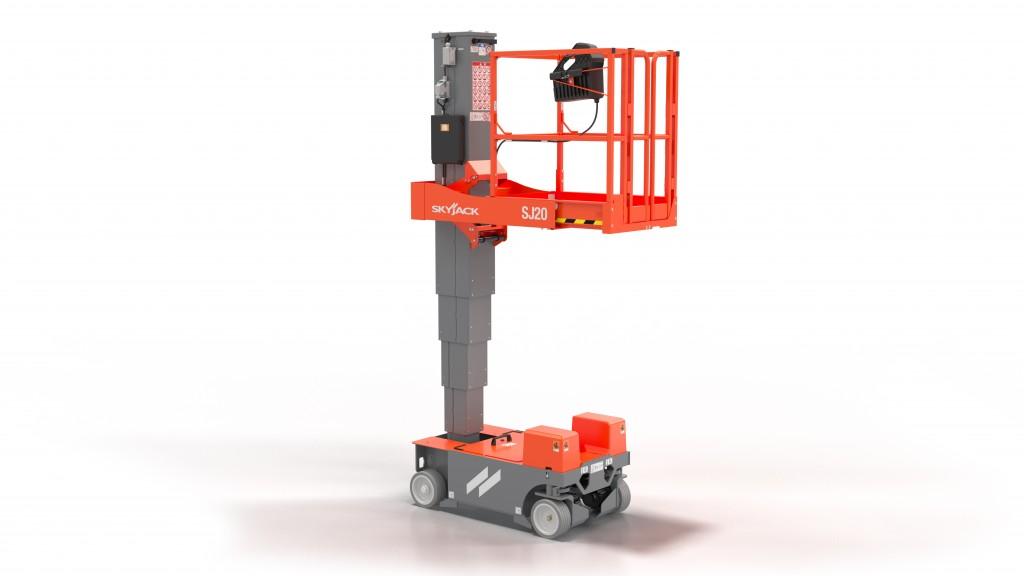 Skyjack's new SJ20 vertical mast lift