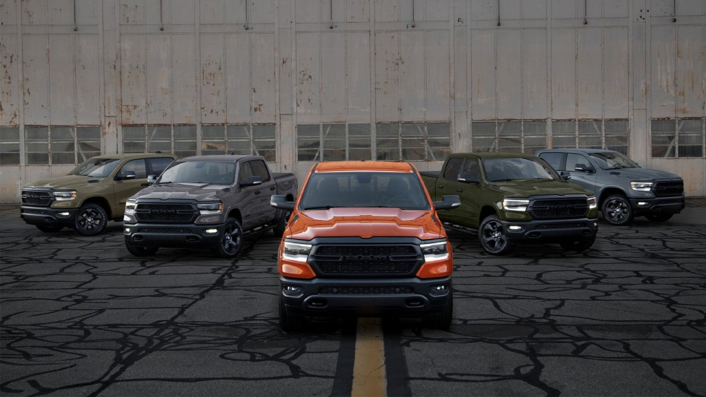 Ram launches fifth and final line of limited-edition Built to Serve trucks