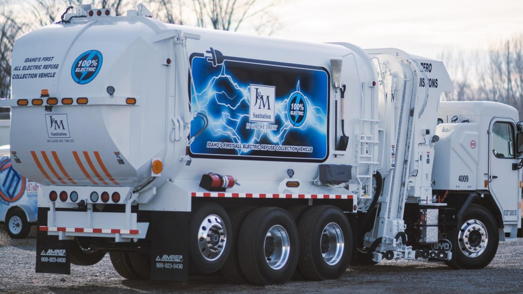 J&M Sanitation deploys BYD all-electric collection trucks