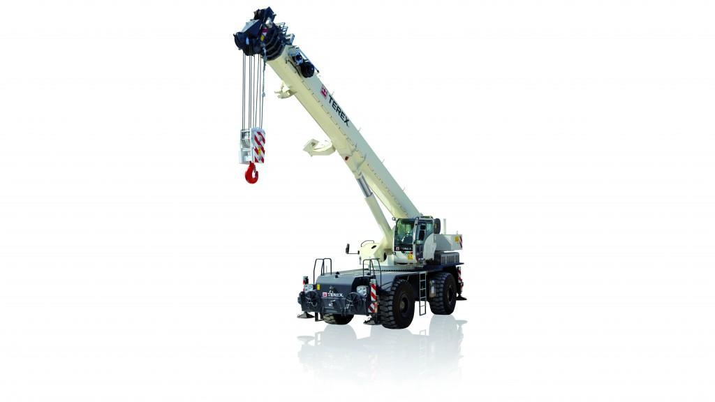 Terex TRT 90 rough terrain crane