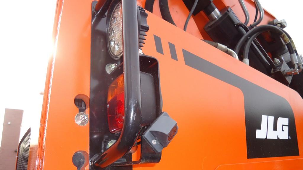 JLG Skytrack multi-reverse camera system mounted on a machine